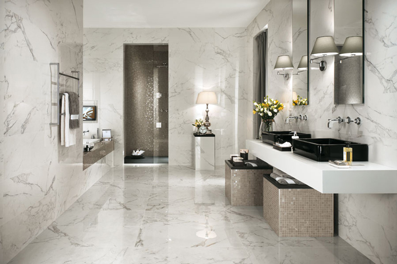 Mix And Match Tiles Stone Style