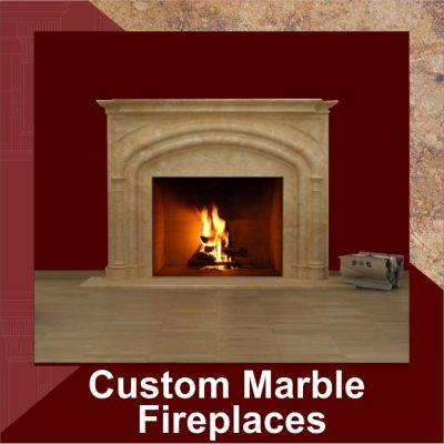 Custom Marble Fireplaces